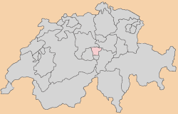 nidwalden Map