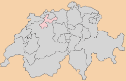 solothurn Map