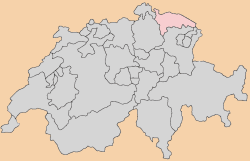 thurgau Map